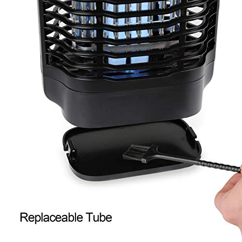 Bug Zapper Electric Mosquito Killer 18W with Insect Trap Fly Pests Catcher Lamp Mosquito Trap Electric Mosquito Zappers Killer Non-Toxic Indoor