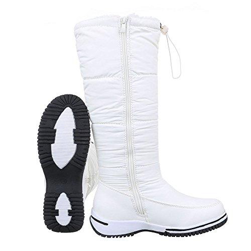 Ital-Design - botas clásicas Mujer blanco