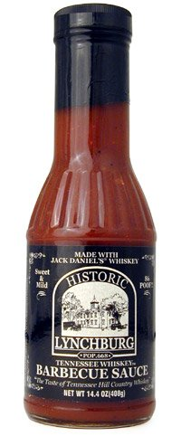 Historic Lychburg Tennessee Whiskey Barbecue Sauce 86 POOF! - Sweet & Mild