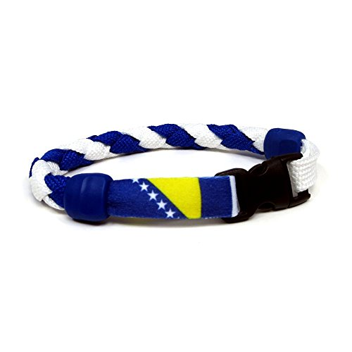 "Bosnia & Herzegovina - 9"" Bracelet by Swannys"
