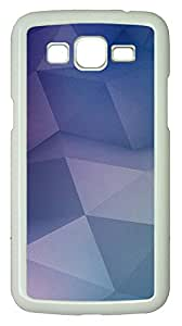 Samsung 2 7106 Case Patterns Squared 2 PC Samsung 2 7106 Case Cover White