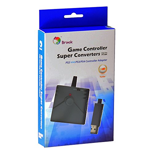 - Gam3Gear BROOK USB Super Converter For PS2 To PS3 PS4 Controller Converter Adapter with Gam3Gear Keychain