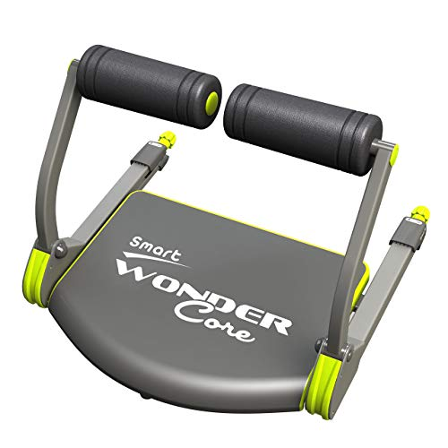 Wonder Core Smart Fitness Equipment, Black/Green (Renewed)