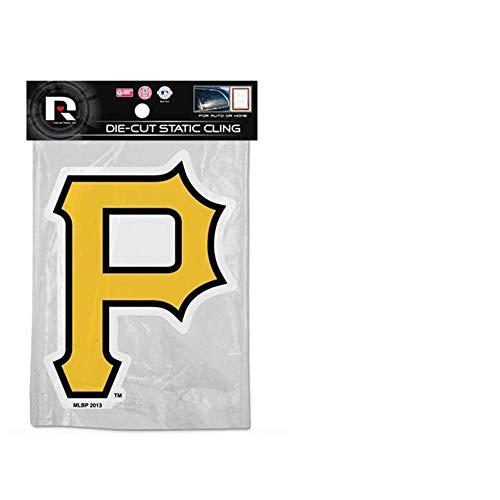 Pirate Shape (Rico MLB Pittsburgh Pirates Shape Cut Static Decal)