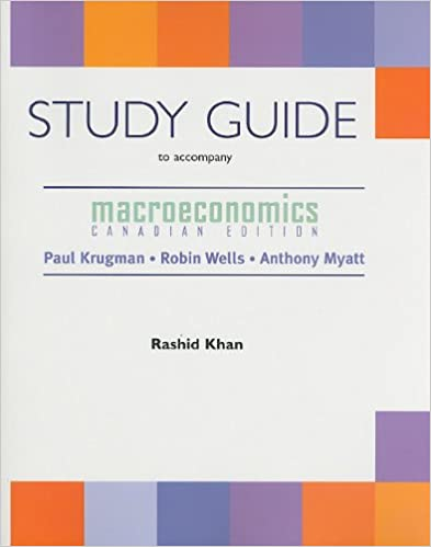 Macroeconomics canadian edition study guide 9780716761587 macroeconomics canadian edition study guide study guide edition fandeluxe Gallery