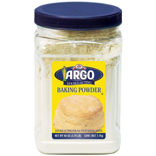 Argo Baking Powder, 60 Ounce