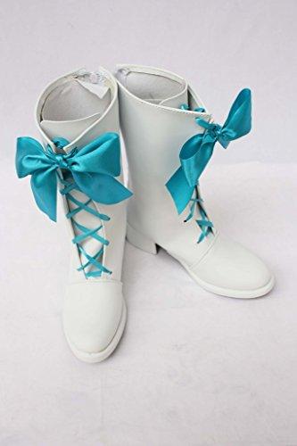 Boots White SAKURA Cosplay Cosplay Shoes KINOMOTO KINOMOTO SAKURA Made Custom 2 Shoes nCwx1fq00