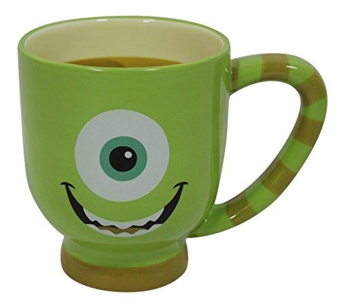Disney Monster Inc. Mike Wazowski Ceramic Mug - Disney Parks Exclusive
