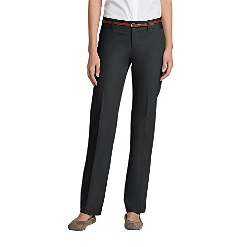 Discount Eddie Bauer Women's StayShape Straight Twill Pants - Slightly Curvy