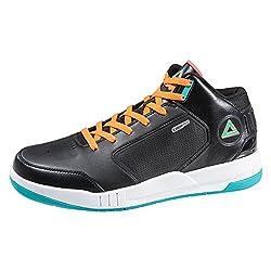 PEAK Men's Tony Parker Signature Basketball Shoes Blue/Red Size US8