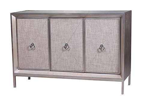 Statements by J Cassidy Sideboard, Metallic Gray (Mirrored Sideboards Buffets)