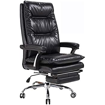 Desk Chairs Office Chair/Computer Chair Fashion boss Swivel Chair Reclining Computer Chair Study Computer Chair Home Recliner Swivel Chair Soft and ...
