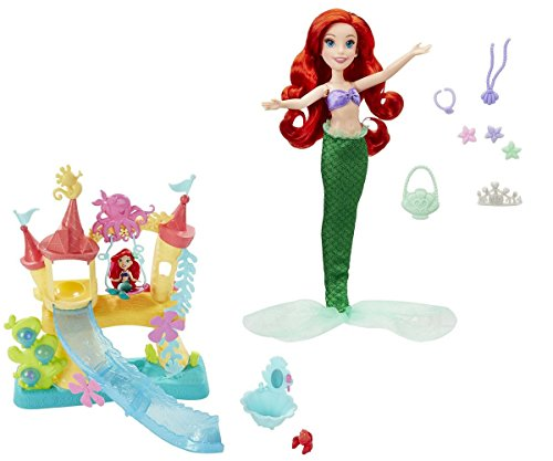 Disney Princess Ariel's Activity set and Kingdom Ariel's Sea Castle Bundle
