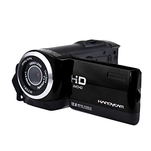 GOTD New 2.8'' TFT LCD 16MP HD 720P Digital Video Recorder Camera 16x Digital ZOOM DV, Black by Goodtrade8