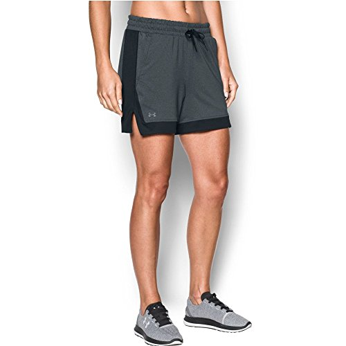 Game Medium (Under Armour Women's Got Game Short, Carbon Heather (090)/Graphite, Medium)