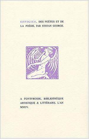 Livre Effigies, des poètes et de la poésie epub, pdf