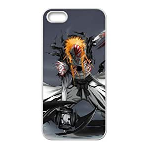 Generic hard plastic Bleach Anime Cell Phone Case for iPhone SE 5 5S White B1204