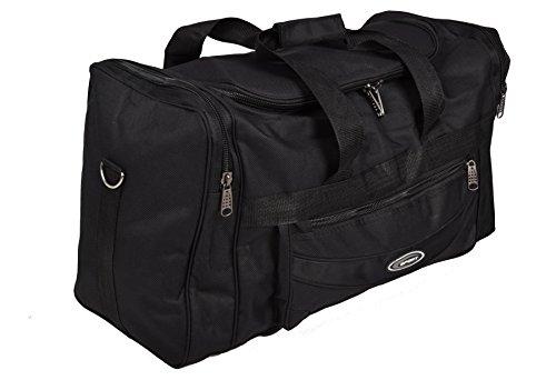 Schwarze Reisetasche Tragetasche Sport- und Freizeittasche