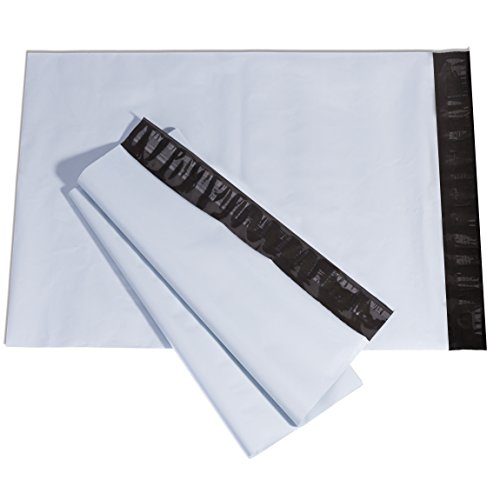 Metronic Poly Mailers, 7.5x10.5 White Self Adhesive Shipping Bags, Pack of 100 Photo #3