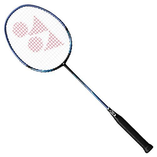 Yonex NANORAY Series Badminton Racket with a Half-Length Cover (NR10F-Black/Blue) by Yonex (Image #1)