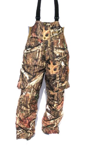 Cabela's SCENT-LOK Silent-Suede Dry-Plus Mossy Oak INFINITY Hunting Pants BIBS (Large)