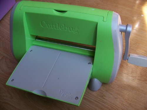 Cuttlebug Embossing Machine by Provo Craft with 2