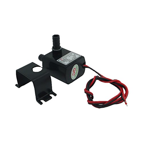 Top Holdding DC30A-1230 12V Water Pump Brushless Permanent Magnetic 2 Phase Centrifugal Submersible for CPU Cooling 63GPH 9.7ft