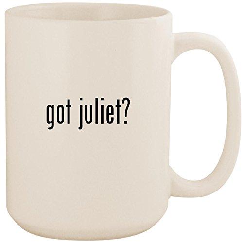 got juliet? - White 15oz Ceramic Coffee Mug (Gnomeo And Juliet Costumes)
