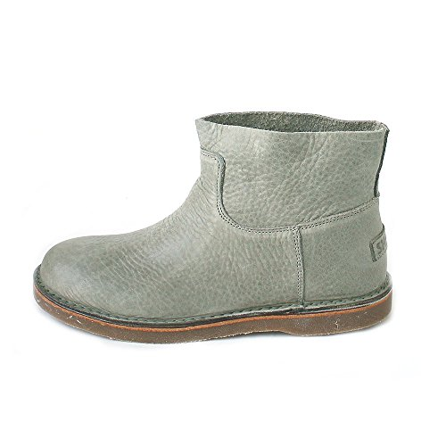 Olive Leather Shabbies Amsterdam Grün Grain Slouch Boots Women's Heavy X8wXP