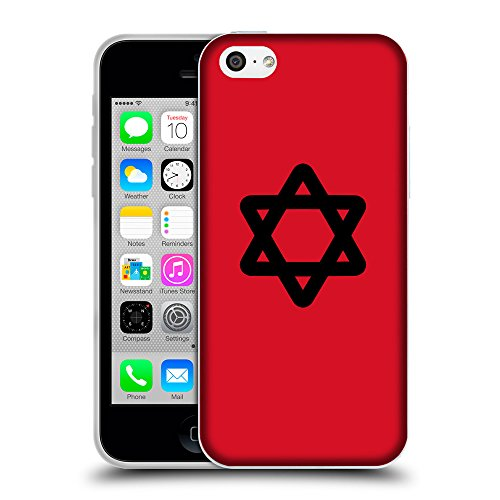 GoGoMobile Coque de Protection TPU Silicone Case pour // Q08470624 Religion 11 Cadmium Rouge // Apple iPhone 5C