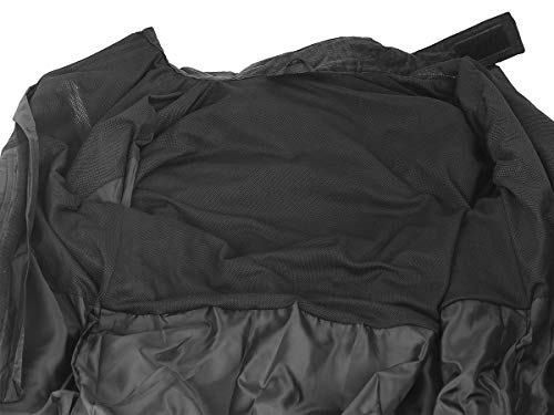 Nelson Rigg Unisex Adult AS-3000-BLK-06-3XL Aston Motorcycle Rain Suit 2-Piece, (Black, XXX-Large), X by Nelson-Rigg (Image #9)