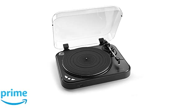 Lenco L-82 tocadisco - Tocadiscos (MP3, 230V, 50 Hz, 10W, Negro ...