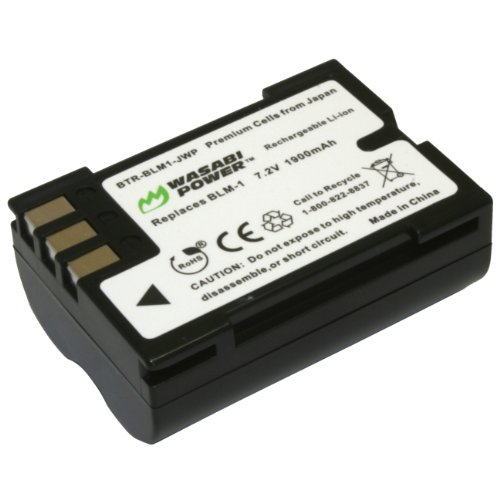 Wasabi Power Battery for Olympus BLM-1, BLM-01, PS-BLM1 and Olympus C-5060, C-7070, C-8080, E-1, E-3, E-30, E-520, EVOLT E-300, E-330, E-500, E-510