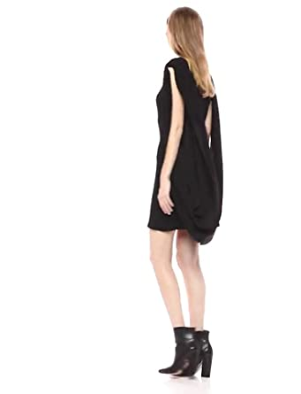 Choose SZ//Color Norma Kamali Women/'s Sleeveless Double Drape Mini Dress