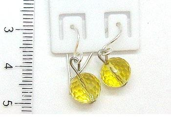- Fashion Silver Earring for Women and Girl, Citrine Agate Earrings 3