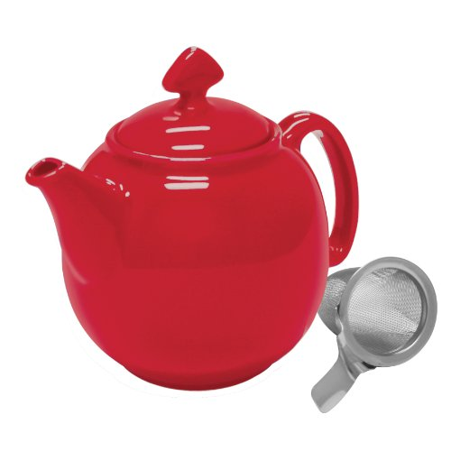 Chantal Tea for 4 Teapot with Stainless Steel Infuser, 1-1/2