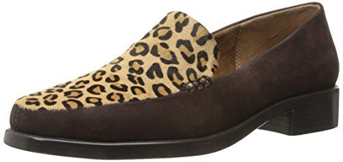 Aerosoles Womens Wishlist Slip-on Loafer Leopard Tan