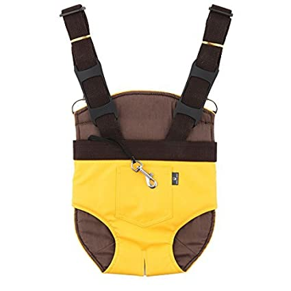 Amazon.com : DealMux Outdoor Traving Pernas anzol design ajustável Ombro Pet Frente Dog Backpack caso : Pet Supplies