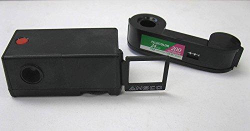 Film Ansco Color (Mini 110 Film Camera with Roll of Fuji ISO 200 24 Exp Color Print Film)