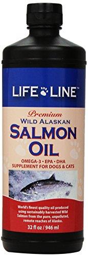 Life Line Wild Alaskan Salmon Oil, 32-Ounce