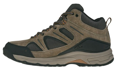 New Balance MW759 D LOW CUT - Zapatos de senderismo de cuero hombre Brown With Black