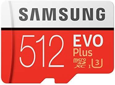 SAMSUNG EVO Plus 512GB microSD + Adapter. (MB-MC512HA/EU)