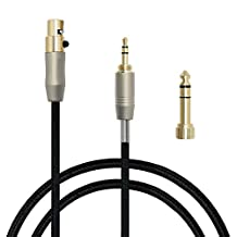 gotor Audio Extension Cord Audio Cable Headphone Cords Headphone Jack Cord Headphone Cable For AKG K141 K171 K181 Q701 K702 K271S K271 MKII K271 MKII K240S K240 MK2, Pioneer HDJ-2000 Headphones (2m)