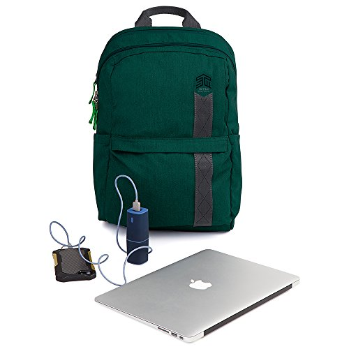 STM Banks Backpack For Laptop & Tablet Up To 15'' - Botanical Green (stm-111-148P-08) by STM (Image #5)