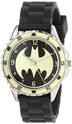 Batman Kids' BAT9004 Analog Display Analog Quartz Black Watch
