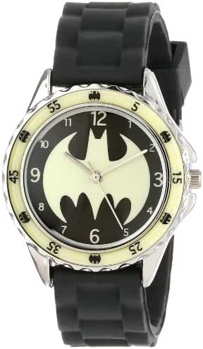 Batman Kids' BAT9004 Analog Display Analog Quartz Black Watch