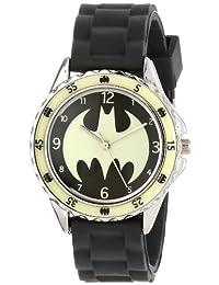 Batman BAT9004 - Reloj analógico de cuarzo para niños, color negro