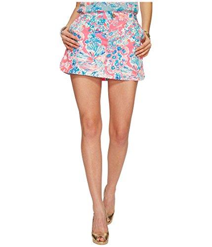 Lilly Pulitzer Women's Lorelie Skort Tiki Pink Gypsea Pink Skirt ()
