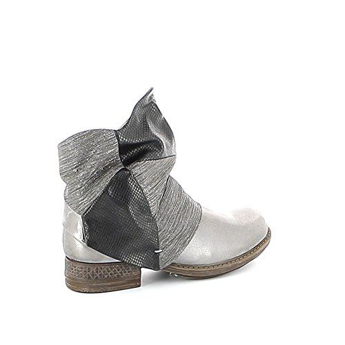 Misstic - Botas de Material Sintético Mujer plata