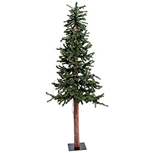 Vickerman A807220 Unlit Frosted Norway Alpine Artificial Christmas Tree 77